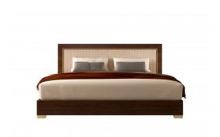 Łóżko Eva z tapicerowanym wezgłowiem 198/203 EABNOLT02