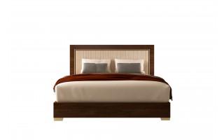 Łóżko Eva z tapicerowanym wezgłowiem 154/203
