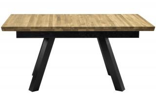 Stół Crudo dąb naturalny/czarny
