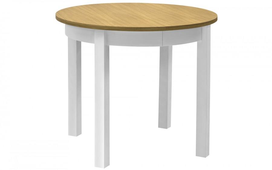 Stół Rudolf buk biały\dąb