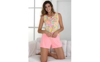 Damska piżama letnia rozm. M  Massana P211244