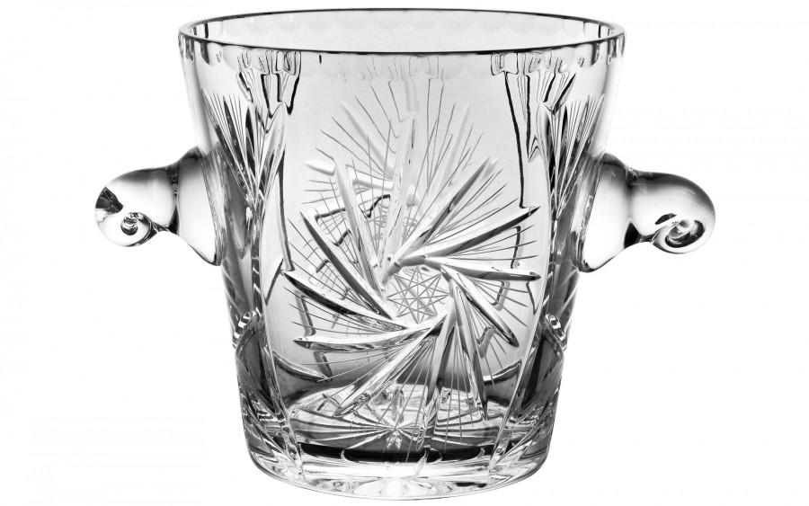 Kryształowy kubeł do lodu 19cm
