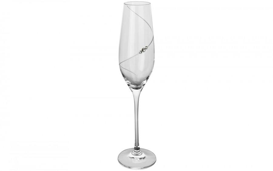 6x Kieliszki do szampana Silhouette