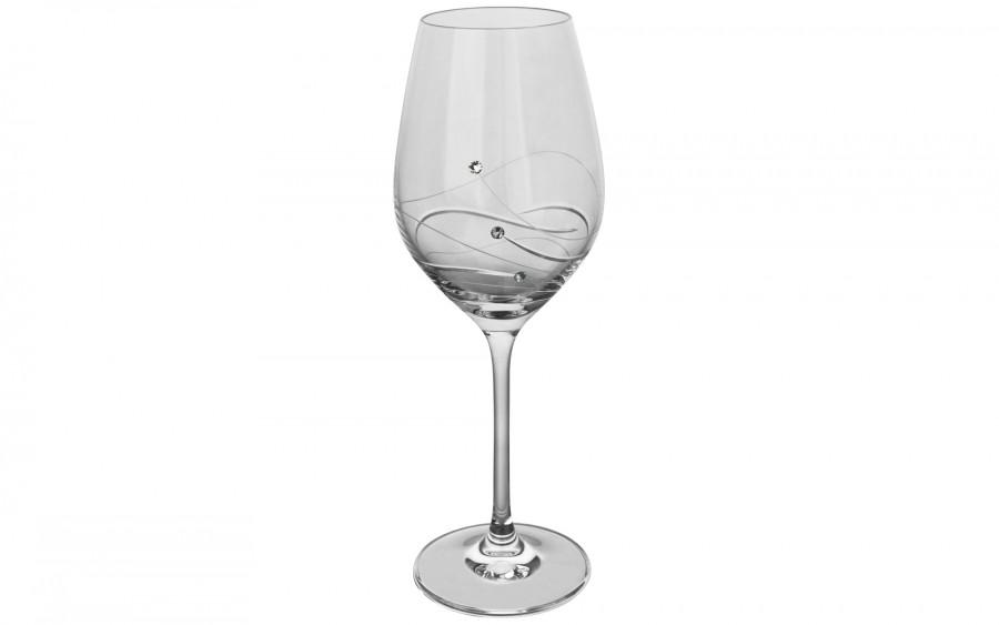 2x Kieliszki do białego wina Glitz