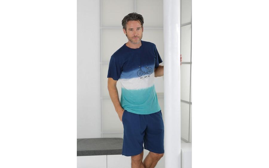 Piżama męska rozm. L Massana P211325