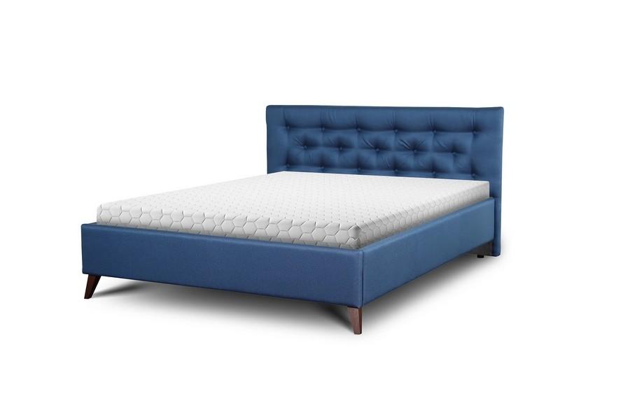 Łóżko bez pojemnika Glame (noga drewniana)