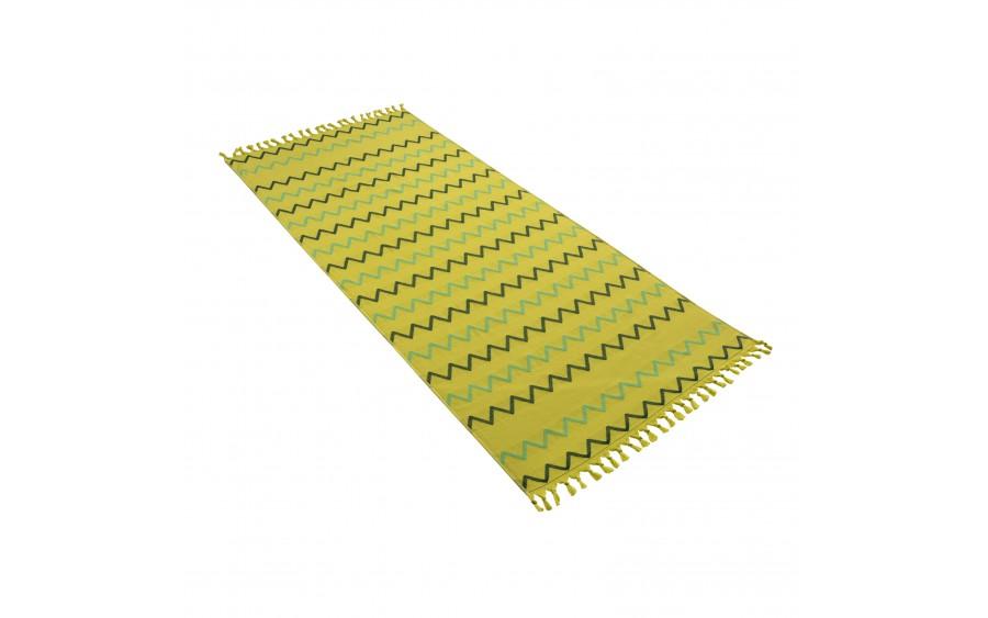 Ręcznik plażowy 80x180 cm Hamam Neptun Jungle
